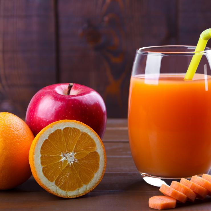 narancs-sárgarépa juice
